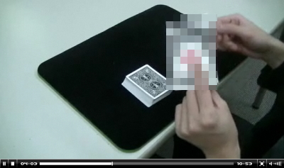 トランプマジック動画